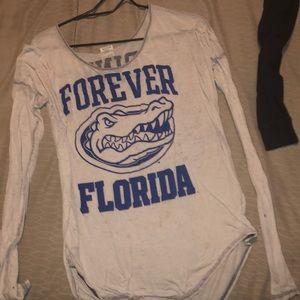 Pink Florida Gators long sleeve tee